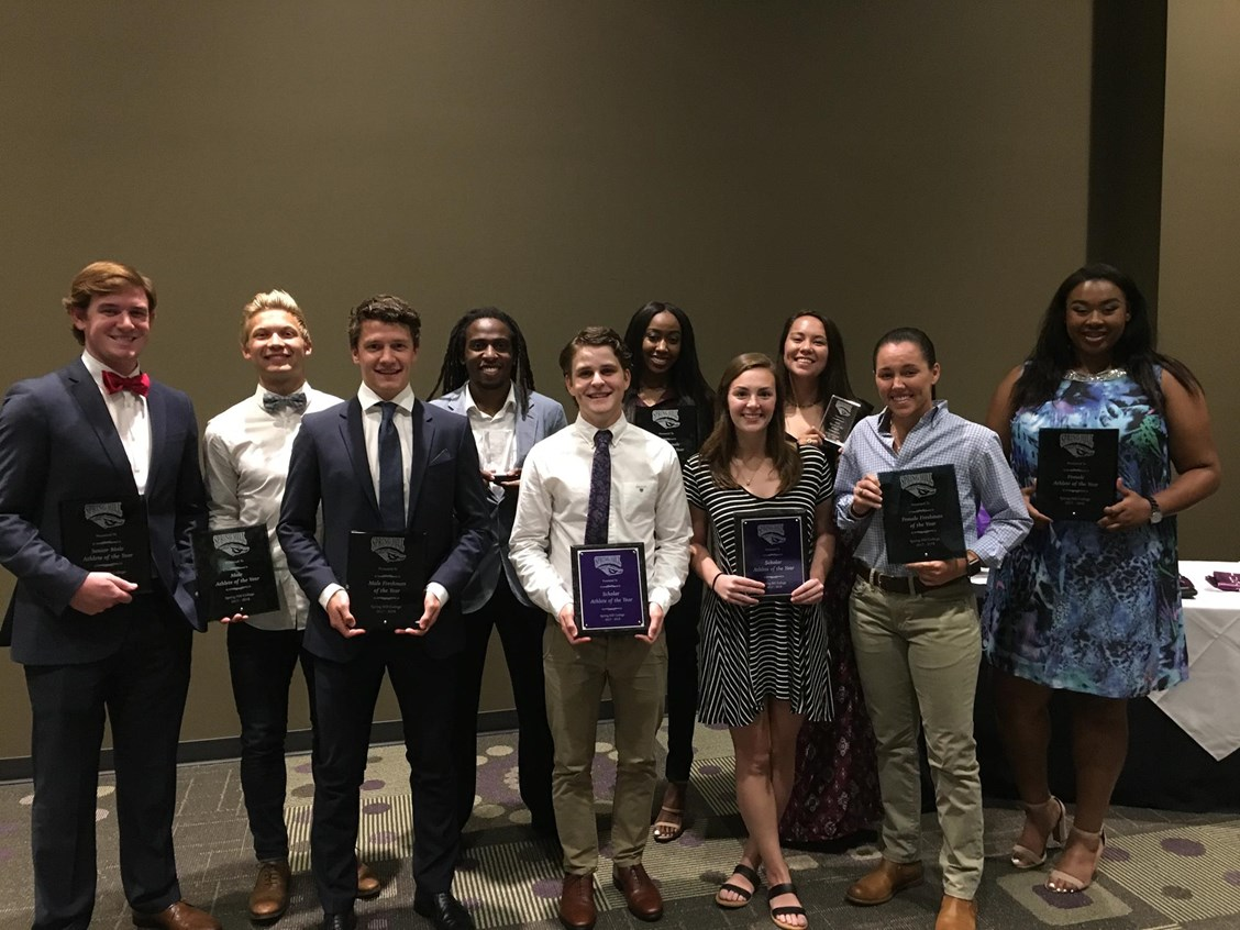 Spring Hill names top athletic awards winners of 2017-2018